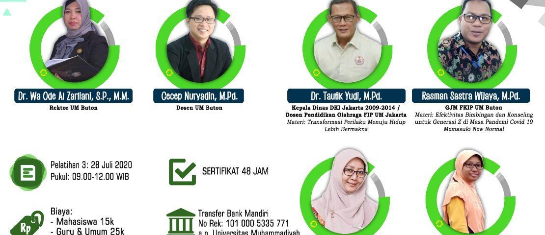 webinar UMJ Fakultas Ilmu Pendidikan
